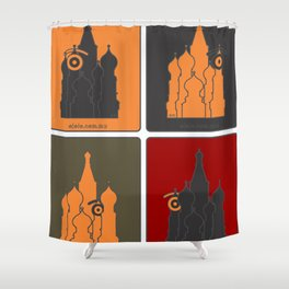 russ.eye Shower Curtain