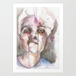 Zombie Fighter Art Print