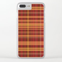 rustic chess Clear iPhone Case