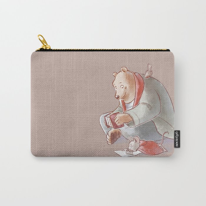 Ernest Et Celestine Carry All Pouch By Scrii Society6