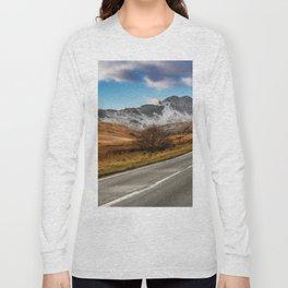 Wnter Scenery Snowdonia Long Sleeve T-shirt