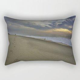 Follow The Prints Rectangular Pillow