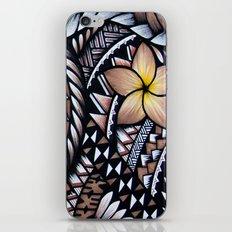 Samoan Beauty iPhone & iPod Skin