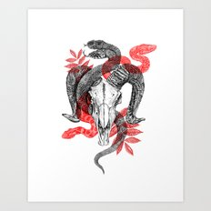 Old Ghosts Art Print