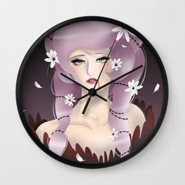 Vampiress Wall Clock