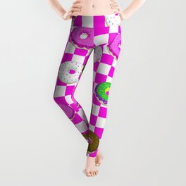 A King Cake Donut Leggings