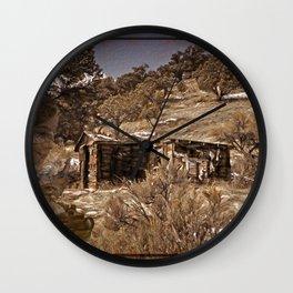 Colorado History Wall Clock