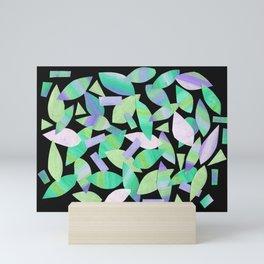Leaf Litter (dark) Mini Art Print