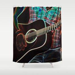 Guitar 1 Shower Curtain