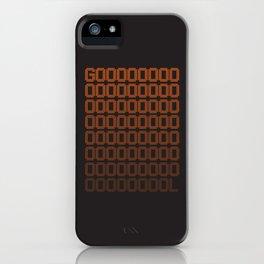 Gol iPhone Case