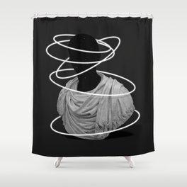 Halos Shower Curtain