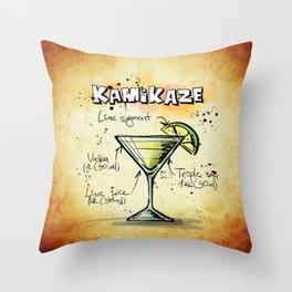 Kamikaze Throw Pillow