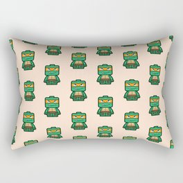 Chibi Michelangelo Ninja Turtle Rectangular Pillow