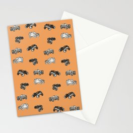 A trail or trails rock crawling offroad crawler pattern Stationery Cards