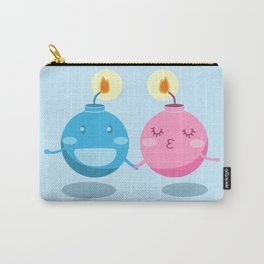 Our love is the bomb Carry-All Pouch