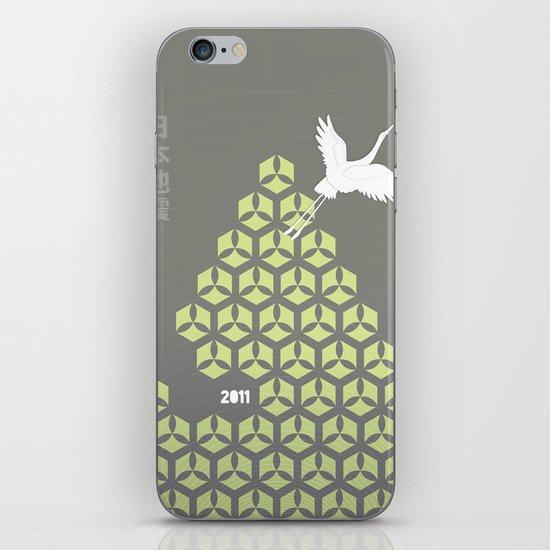 Japan earthquake 2011 no.3 iPhone & iPod Skin