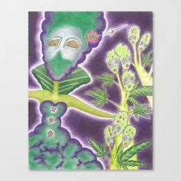 Meditative Mama Series~ Phantom~ Canvas Print