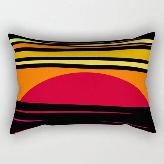 MELTING GLACIER Rectangular Pillow