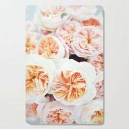 Garden Roses Cutting Board