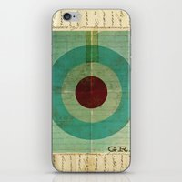 grace iPhone & iPod Skins featuring Grace by Michael Jon Watt