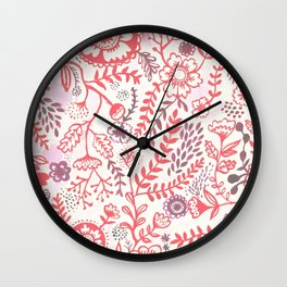 Jane's Garden Wall Clock