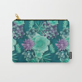 Succulent Love I Carry-All Pouch