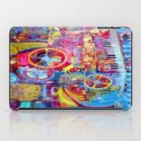 steam punk iPad Cases featuring Steam Punk Music Box  by SharlesArt