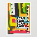 I can and I will by sophiaeisenbart