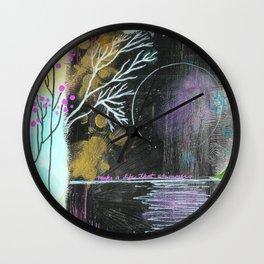 Moon Life Wall Clock