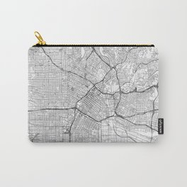 Los Angeles Map Line Carry-All Pouch