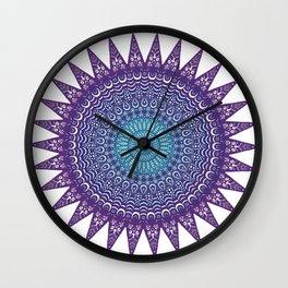 Colourful Mandala #1 Wall Clock