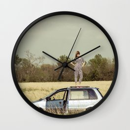 Urban Safari Wall Clock