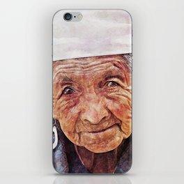 'Old Woman' iPhone Skin