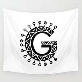 LETTER 'G' IMELA PRINT Wall Tapestry