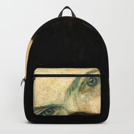 "Gustav Klimt ""Lady with a muff"" Backpack"