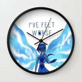 Lapis - I've Felt Worse Wall Clock