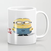 minion Mugs featuring Minion by rosita