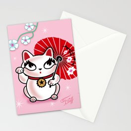 Kyoto Kitty Stationery Cards
