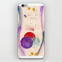 coldplay iPhone & iPod Skins featuring Painting & Coldplay by Hector Pahaut
