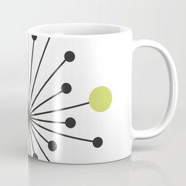 Atomic Age Nuclear Motif — Mid Century Modern Coffee Mug