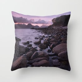 Raw and Rugged Throw Pillow