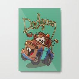 Dadgum Metal Print