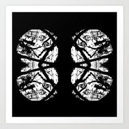 Butterfly Lungs Art Print
