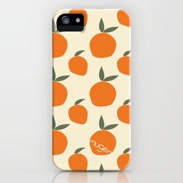 Mangoes, not oranges! iPhone Case