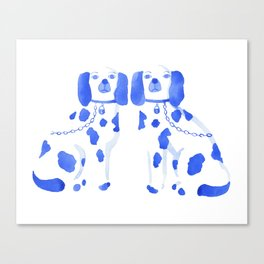 Staffordshire Dogs Canvas Print