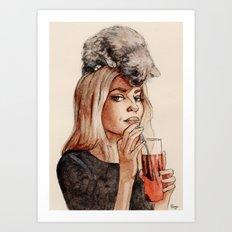 Addicted to Love Art Print