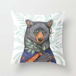 Kachina Throw Pillow