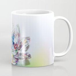 Crystal Flower Coffee Mug