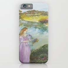 Girl Setting a Bird Free Slim Case iPhone 6s
