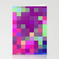 pixel art Stationery Cards featuring Pixel by FABIAN•SMITH